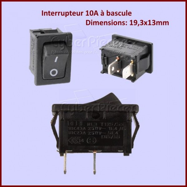 Interrupteur Marche - Arret  2 Cosses 00815051