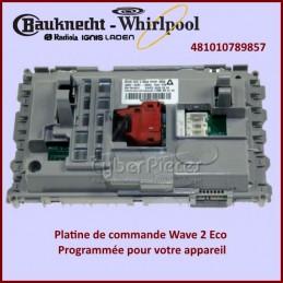 Carte électronique de commande Wave 2 Eco Whirlpool 481010789857 GA-408042