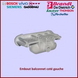 Embout balconnet gauche Brandt 41X8275 CYB-161817