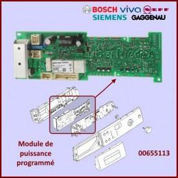 Carte électronique de puissance programmé Bosch 00655113 CYB-370561