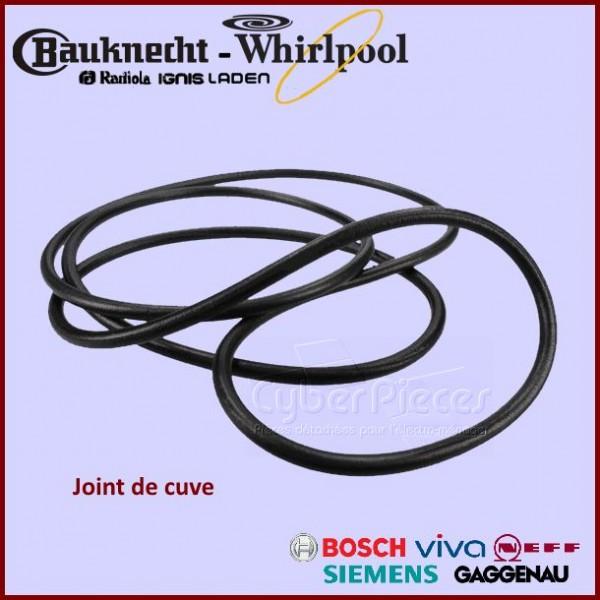 Joint de cuve Whirlpool 481253268078
