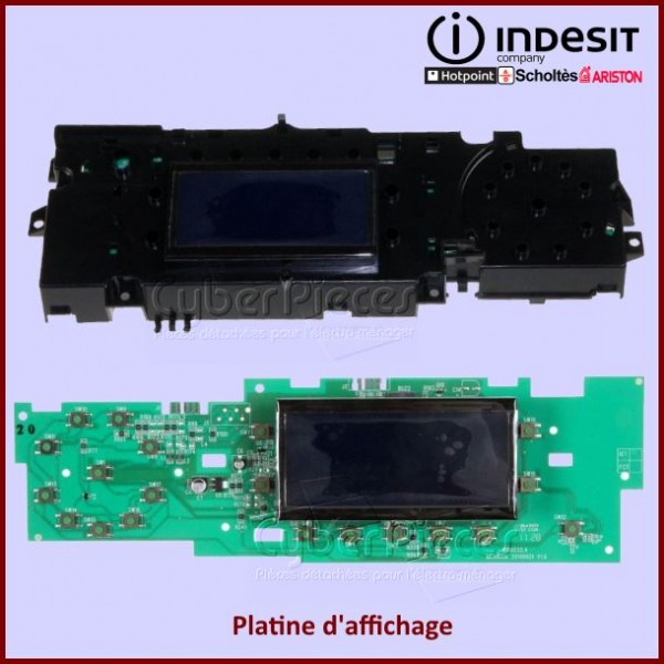Platine d'affichage Indesit C00292611