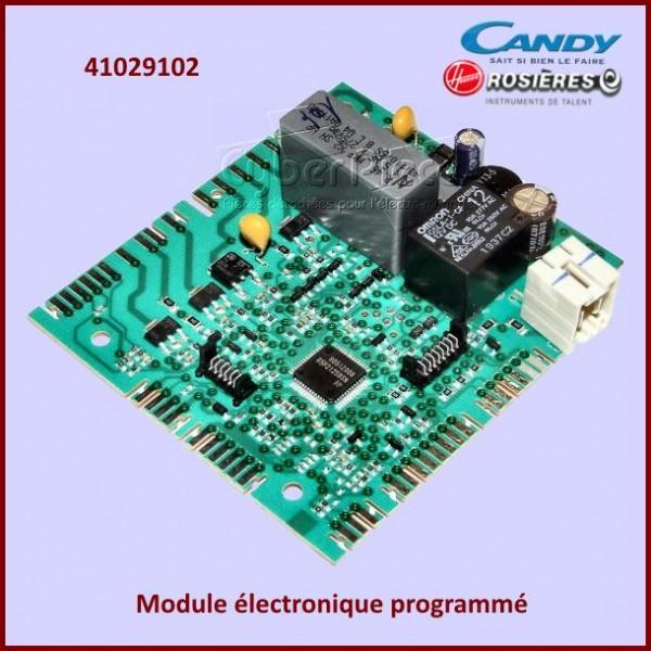 Module électronique programmé Candy 41029102