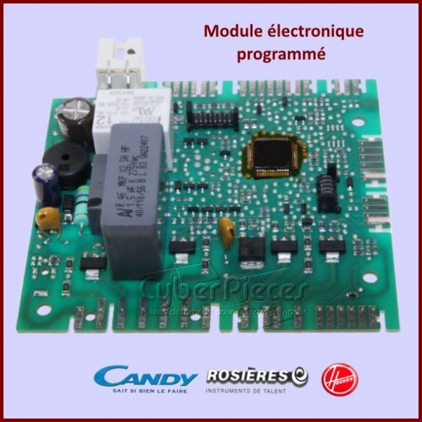 Module électronique programmé Candy 41029100