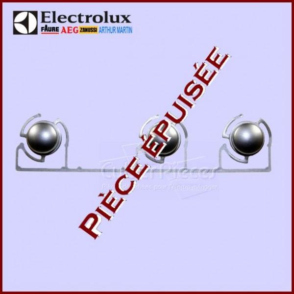 Bouton en inox 3 PUSH C2 Electolux 3303783108***Pièce épuisée***