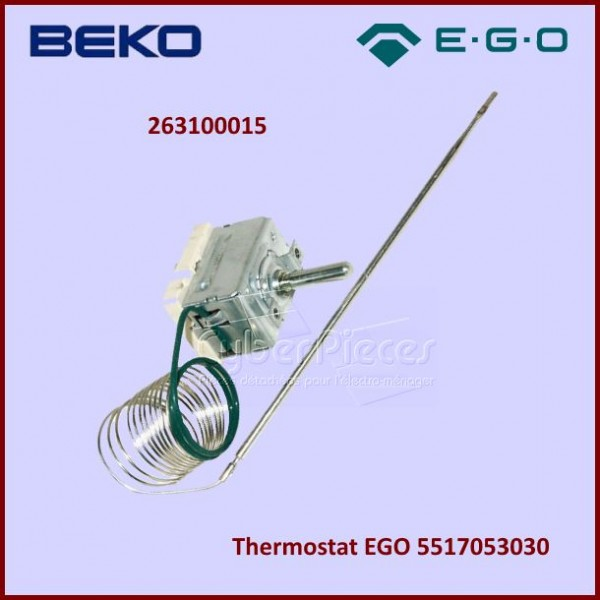 Thermostat Beko 263100015 - EGO 5517053030