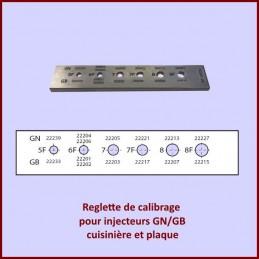 Reglette calibrage...