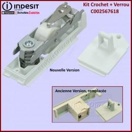 Kit Crochet + Blocage Hublot Seche Linge C00257618 CYB-065481