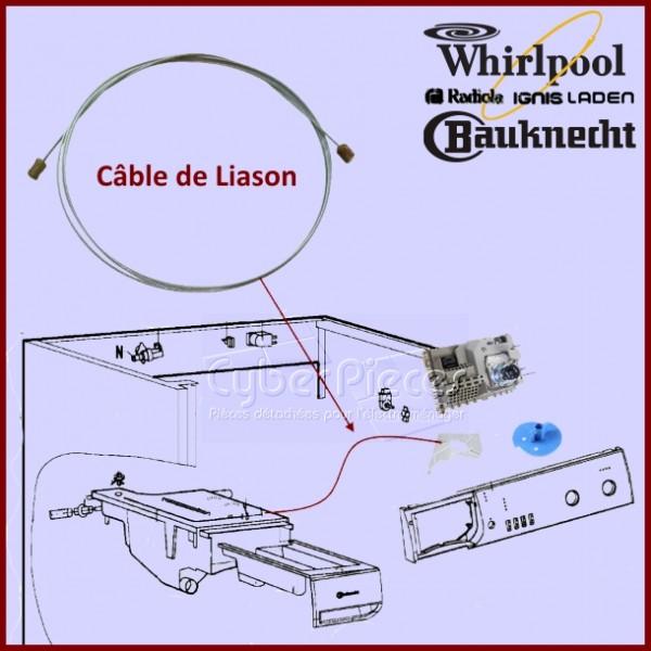 Câble de liaison pour boite à produit 481932128092