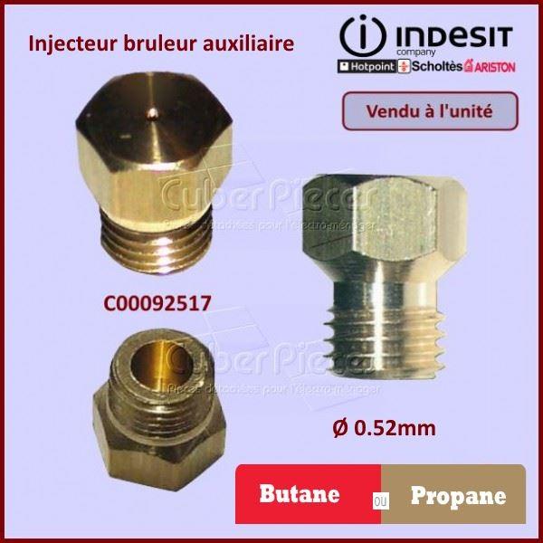 Injecteur auxiliaire Butane Indesit C00092517