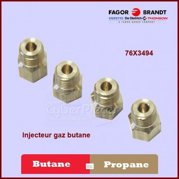 Injecteurs Gaz Butane Brandt 76X3494