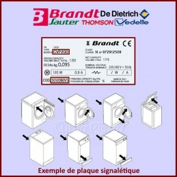 Carte de commande Brandt...