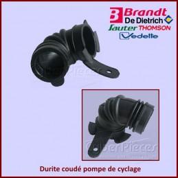 Durite coudé pompe de cyclage Brandt 32X3307***épuisé*** CYB-149280