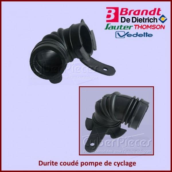Durite coudé pompe de cyclage Brandt 32X3307