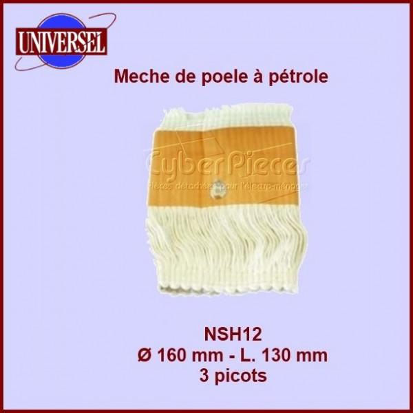NSH12 Mèche de poêle à pétrole - R140C - 160x130mm