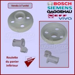 Roulette avec Axe du panier Inférieur Bosch 00066320 CYB-024426