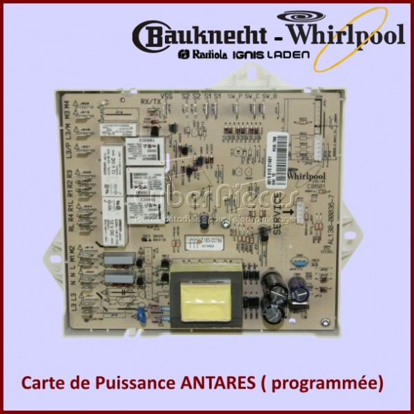 PLATINE DE PUISSANCE 481221458325