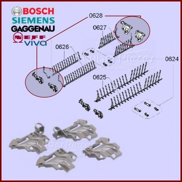 Clips de maintien du panier inférieur Bosch 00611473