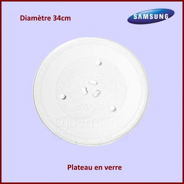 Plateau en verre 34cm Samsung DE7420016A