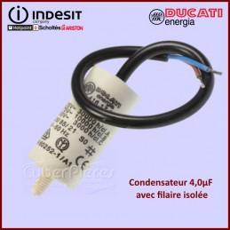 Condensateur à fils 4,0µF (4mF) 450V CYB-340021