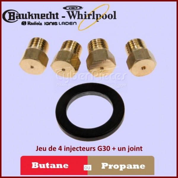 Injecteurs Butane - Propane Whirlpool 480121100239