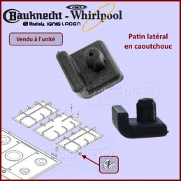 Patin de grille en caoutchouc Whirlpool 481246668851 CYB-146951