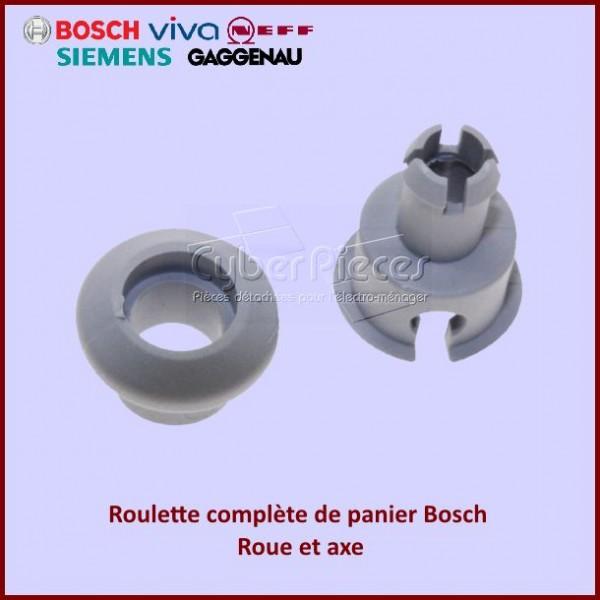 Roulette complète de panier Bosch 00150948  - 00150943