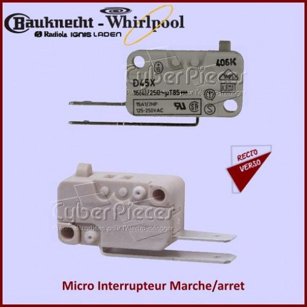 Micro Interrupteur Marche/Arret 481227618248