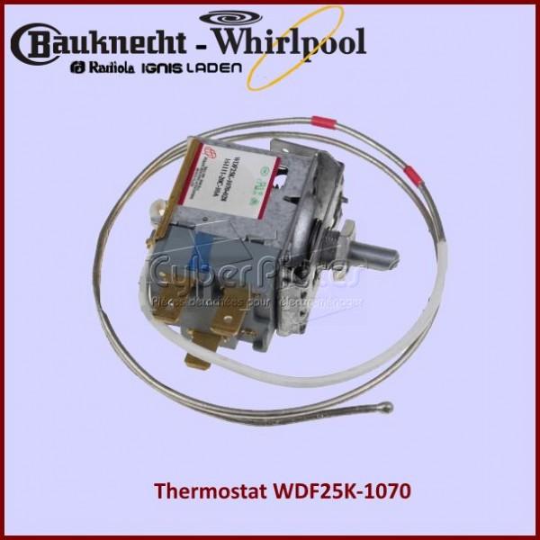 Thermostat WDF25K-1070 Whirlpool 480132100131