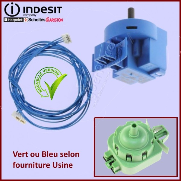 Pressostat avec câblage Indesit C00381612 540-AA-009