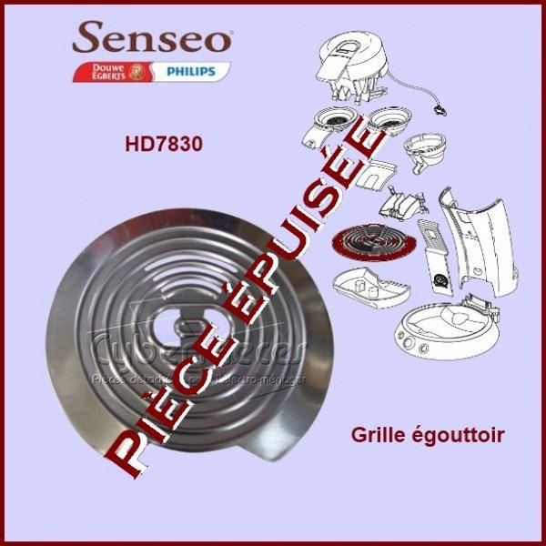Grille inox Senseo - 422224005960***Pièce épuisée***