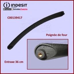 Poignée Noire Mat Indesit C00139417 CYB-058940