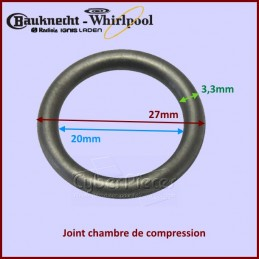 Joint torique 27x20x3,5mm Whirlpool 481953058026 CYB-207492