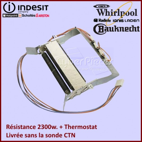 Résistance + Thermostats 2300w - C00258799