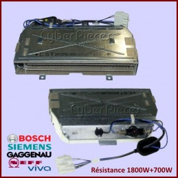Résistance 1800W+700W Bosch...