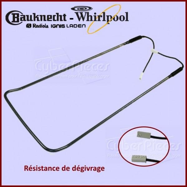 Résistance de dégivrage Whirlpool 481202188005