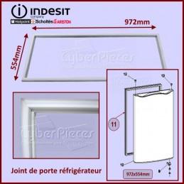 Joint de porte 554x972mm Indesit C00115392 CYB-050319