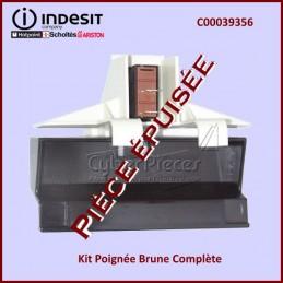 Kit Poignée Brune Indesit C00039356***Pièce remplacée*** CYB-047418