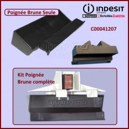 Poignée Brune Seule Indesit C00041207 CYB-047623