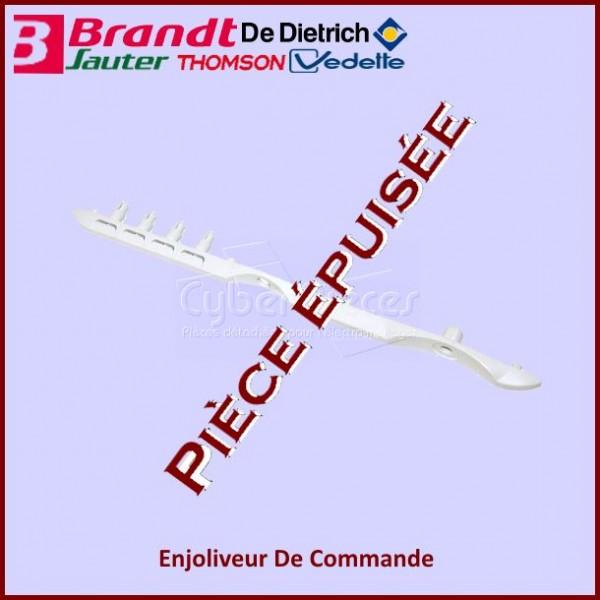 Enjoliveur De Commande Brandt 94X2931***Pièce Epuisee***