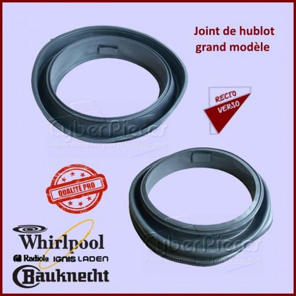 Joint de Hublot qualité PRO Whirlpool 481246668784