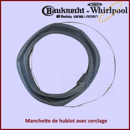 Manchette de hublot Whirlpool 481231018865 CYB-186063