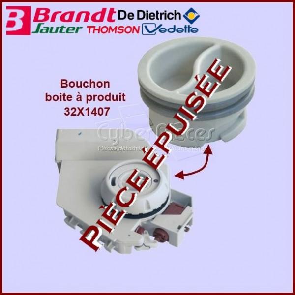 Bouchon boite à produit Brandt 32X1407***Pièce epuisee***