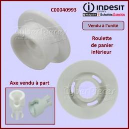 Roulette de panier inférieur Indesit C00040993 CYB-315104