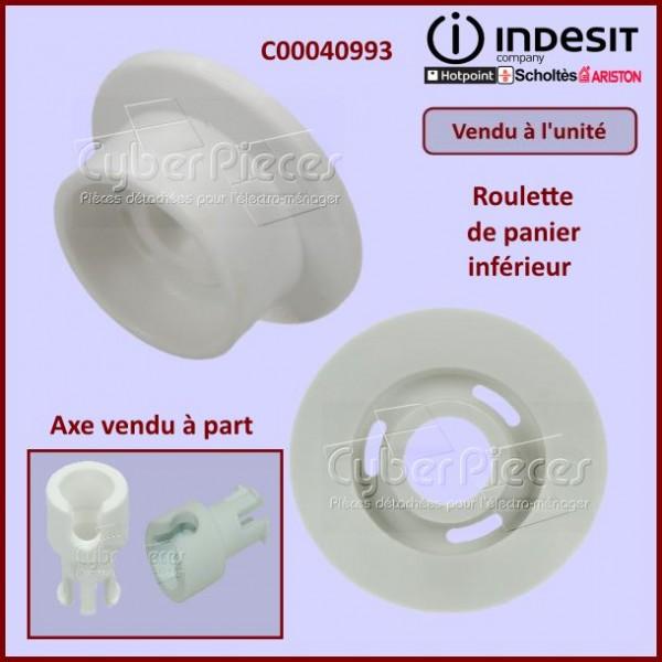Roulette de panier inférieur Indesit C00040993