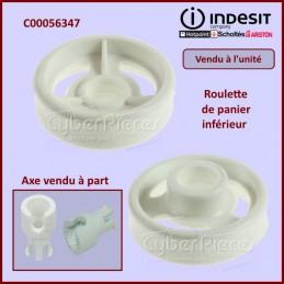 Roulette de panier inférieur Indesit C00056347 CYB-318150
