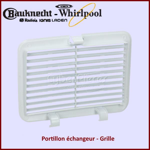 Portillon echangeur Whirlpool 480112101529