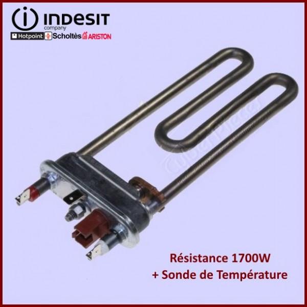 Résistance 1700W + Sonde de T° Indesit  C00273396