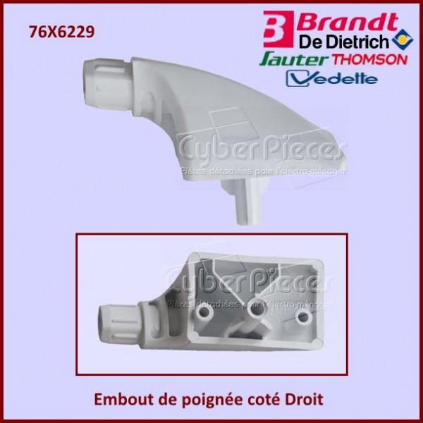Embout de poignée coté Droit Brandt 76X6229