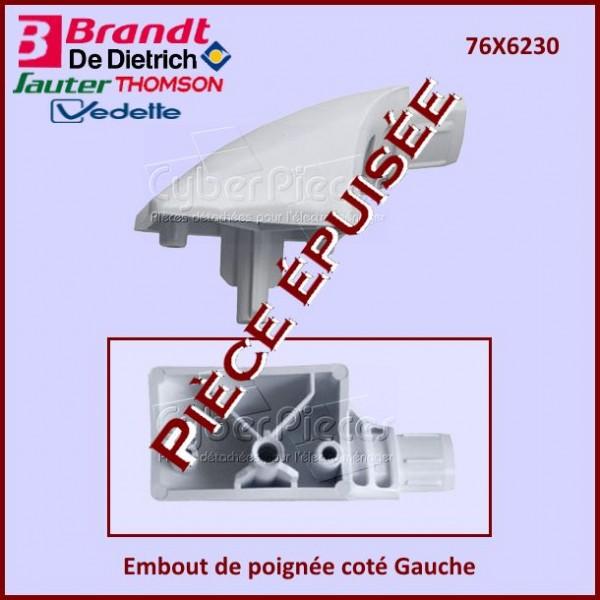 Embout de poignée coté Gauche Brandt 76X6230***Pièce épuisée***